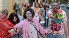 Zombie walk regina