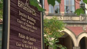 Fredericton justice building