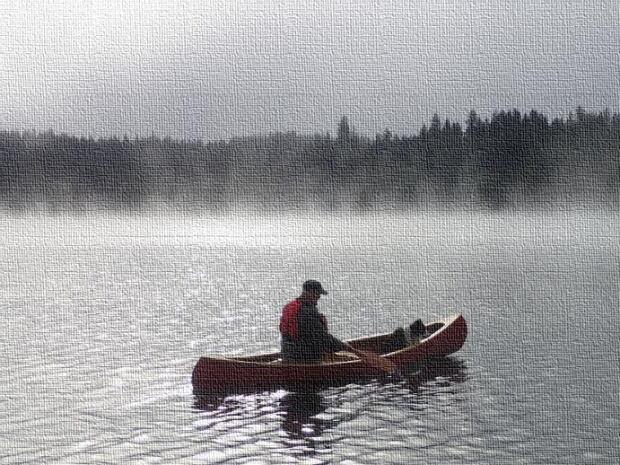 Canoe on Canvas