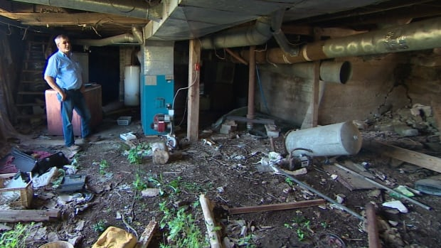 In River Philip, Ron Moore said abandoned buildings are so common, he doesn't think rural Nova Scotians notice them any more.