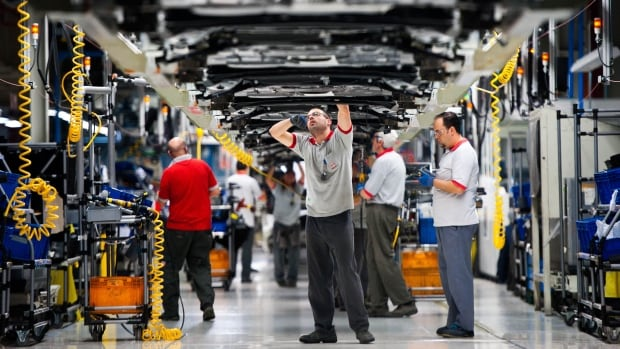 Canada's GDP unchanged in July, down from strong June