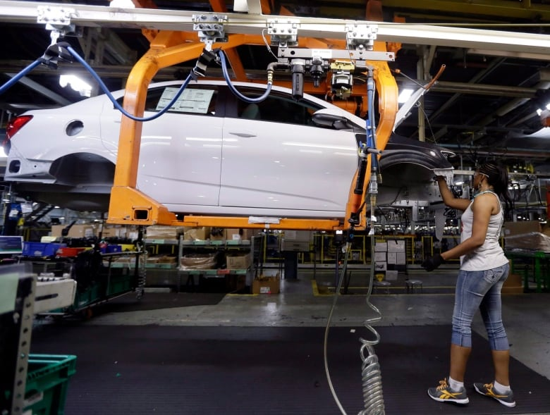 Canada produces about two million cars a year most shipped to the U.S