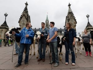 Dairy Farm Protest 20150929