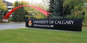 University of Calgary entrance