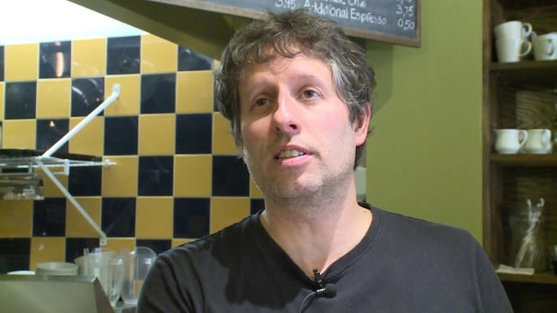 Pause Cafe owner Ryan Smith