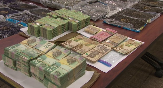 Money and drugs seized in St. John's