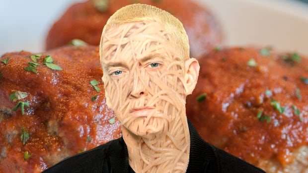 Eminem's Oscar-winning 2002 hit 'Lose Yourself' has inspired countless spaghetti-themed works of internet art over the past decade.