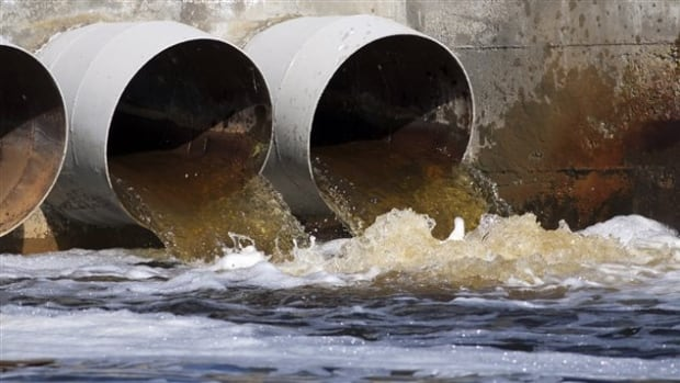 Montreal dumped raw sewage into the St. Lawrence River as repairs were made to a major sewer interceptor.