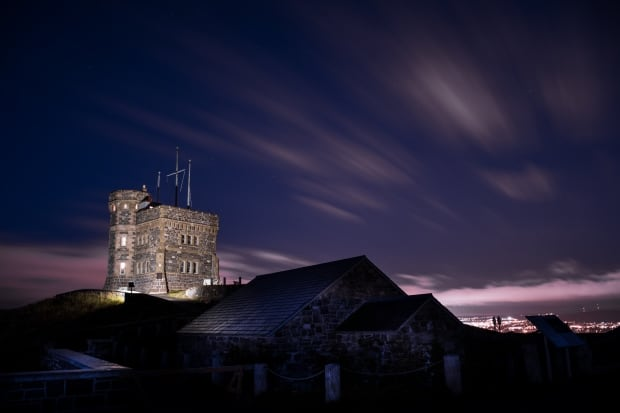 Cabot Tower morning by Jim Desautels