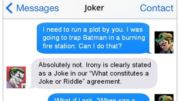 Texts From Superheroes Imagines The Less Thrilling Parts