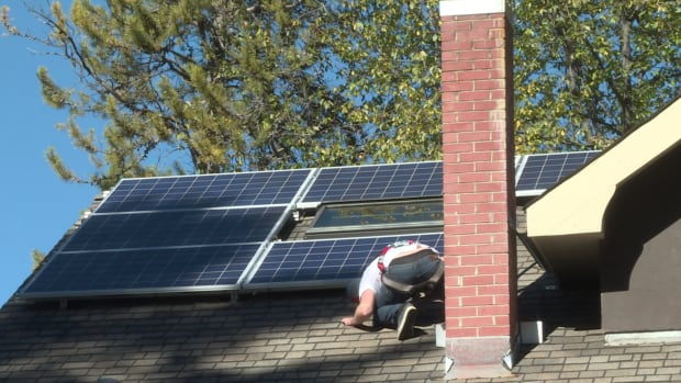 Banff solar instalation