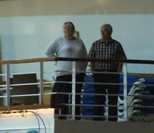 Cruise ship passengers Star Princess