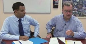 Dr. Mark Nowaczynski and Dr. Samir Sinha