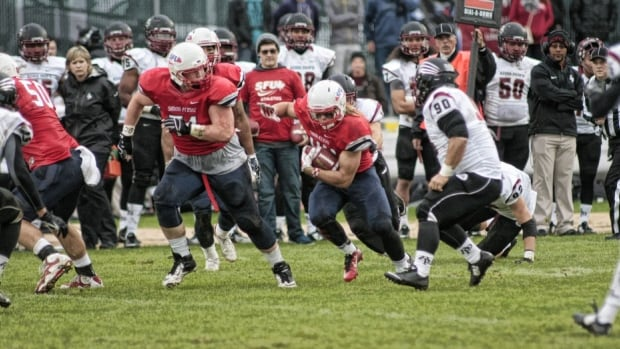 The SFU football team is just one of the university's sports teams that play under the name Clan.