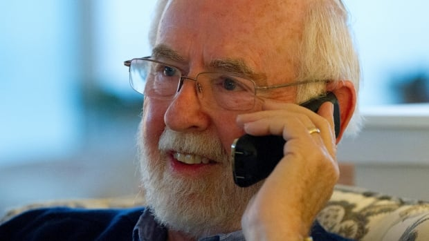 Arthur B. MacDonald, professor emeritus at Queen's University in Canada, speaks on the phone shortly after learning that he was a co-winner of the Nobel Prize for Physics. He's now won a second major award for the same research.