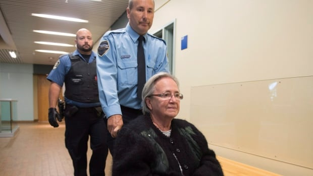 Former Quebec lieutenant-governor Lise Thibault seen during a court appearance last October.