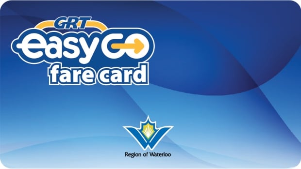 Grand River Transit announced its new electronic smartcard would be called the EasyGo Fare Card.