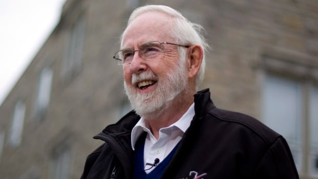 Art McDonald is a co-winner of the 2015 Nobel Prize in Physics for his work on tiny particles known as neutrinos.