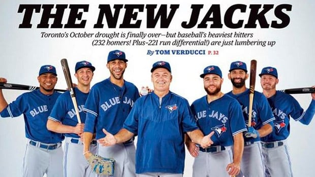 The Toronto Blue Jays have made the cover of Sports Illustrated for the first time since 2005.
