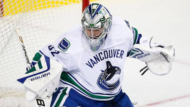 Richard Bachman Canucks Goalie To Fill In For Injured Jacob Markstrom Cbc Sports