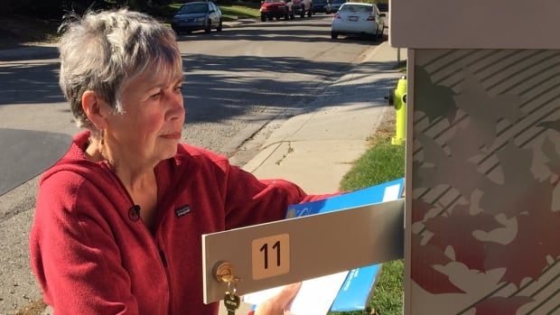 Diann Duthie has voted for more than 30 years in the Forest Lawn area, and she said she has never seen a mistake like this.