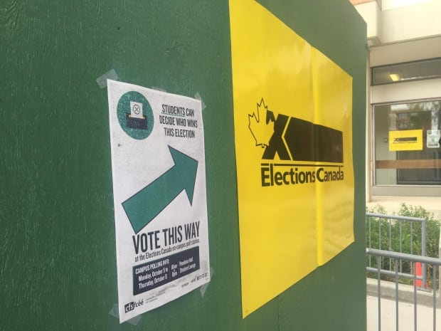 On campus voting