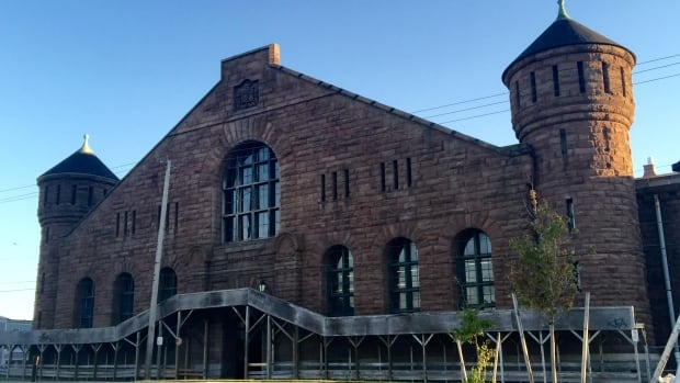 The scope of construction includes cosmetic and structural improvements to the Halifax Armoury's west wall.