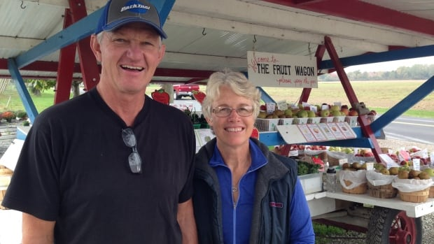 Doug Balsillie and Leslie Huffman Balsillie own The Fruit Wagon in Harrow.