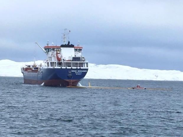 M/T Sarah Desgagnés fuel spill nunavik salluit
