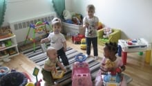 AMCAL Our Place Children playing