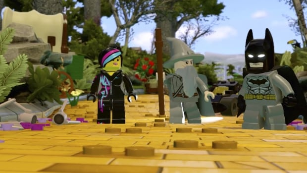 Lego Dimensions mashes up franchises including Batman, The Lord of the Rings and The Lego Movie for a toy-and-video game hybrid that can entertain kids and bankrupt their parents.