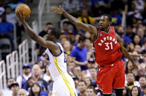 Raptors Warriors Basketball