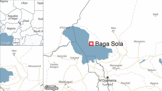 Baga Sola, a village in Chad that is home to thousands of Nigerian refugees, was the target of at least five suicide bombings on Saturday.