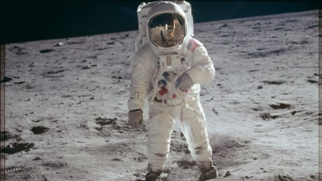 APOLLO 11 Astronaut Edwin E Aldrin Jr moon walk July 20 1969