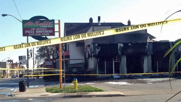 The fire that broke out at 1129 Wyandotte St. E. on Monday is considered to be suspicious in nature.