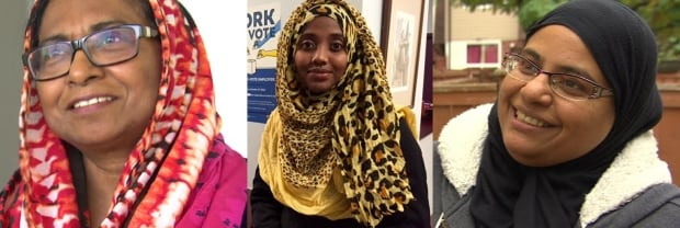 Three women react to niqab debate