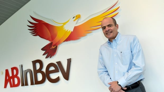 Carlos Brito, chief executive of Anheuser-Busch InBev, is shown earlier this year in Leuven, Belgium.