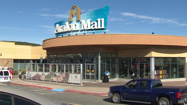 17f3110e8b1 Avalon Mall to demolish part of former Sears space, remove strip mall in  parking lot