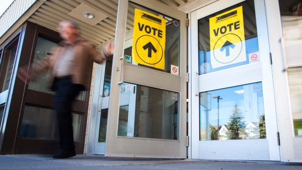Polling stations in Edmonton will open at 9 a.m. on election day, Oct. 16.