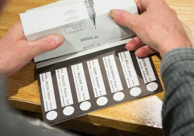 Tom Mulcair ballot