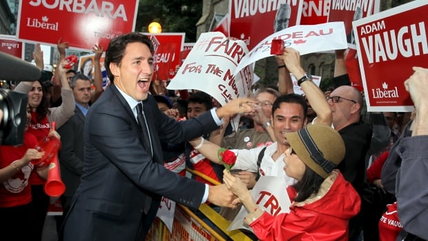 Liberal leader Justin Trudeau is leading in the polls and is on track to win Monday's election. But will he?