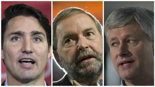 Liberal Leader Justin Trudeau, NDP Leader Tom Mulcair and Conservative Leader Stephen Harper have been in a close three-way race for most of the election campaign, but heading into the final stretch Trudeau has widened his lead. Where do each of the party leaders need to win seats to win the election on Oct. 19?