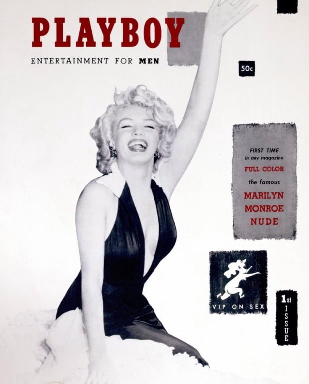 Playboy's first issue, 1953