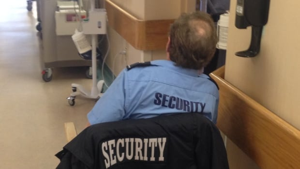 The Aberdeen Hospital in New Glasgow spent $936,000 from October 2014 to September 2015 on security guards to watch patients with mental illness, dementia and other conditions.
