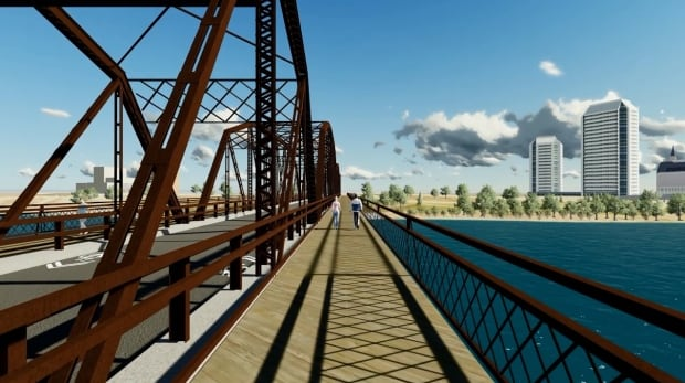 Traffic Bridge proposed design concept.