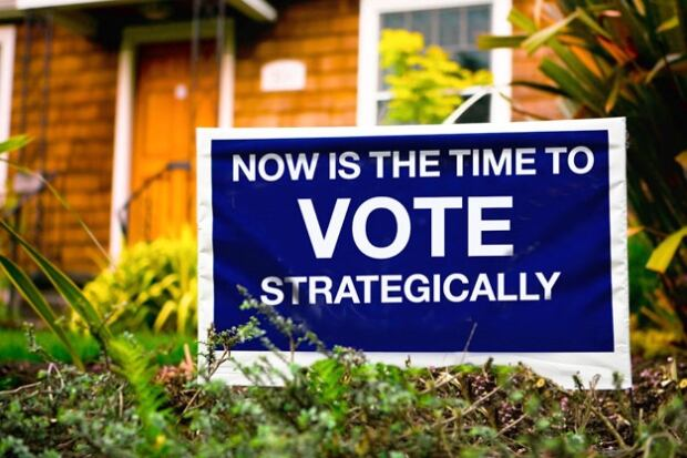 Strategic Voting Sign