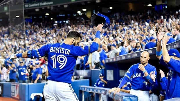 Toronto Blue Jays slugger Jose Bautista produced one of the most memorable home runs in franchise history during the deciding Game 5 victory against the Texas Rangers Wednesday night.