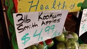 Kokum Smith Apples