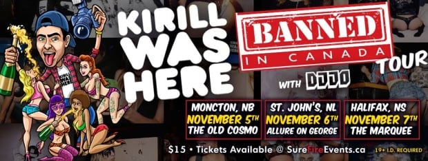 Kirill banned in canada poster