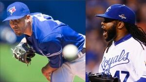 MLB Playoffs David Price Johnny Cueto